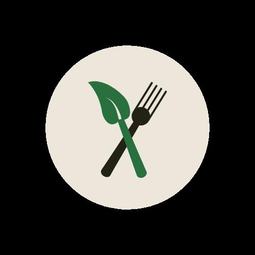 Icon vegan.