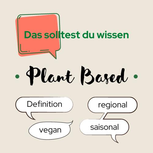 Plant Based für Neulinge.